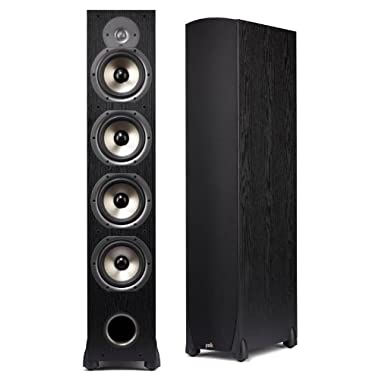 Polk Audio Monitor-75T Four-Way Floorstanding Speaker (Black, Single)
