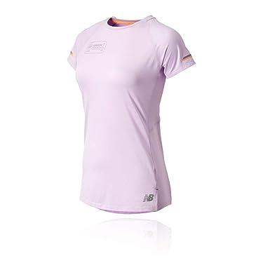 b01ae94a89c New Balance NB Ice 2.0 London Women s Running T-Shirt - SS19  Amazon ...