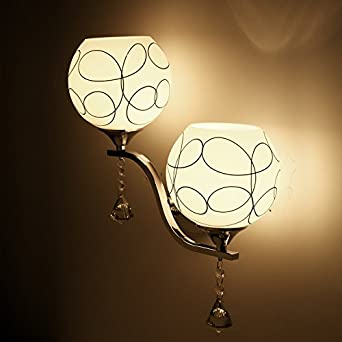COLLECTOR Innere Sphärische Gemusterten Lampe Glas Modern Creative Treppe  Flur Der Flur Schlafzimmer Nachttischlampe Dekorative Beleuchtung