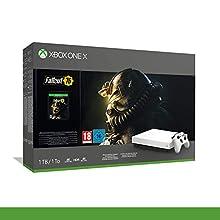 Xbox One X Robotwhite Spec.ed.+Fallout76