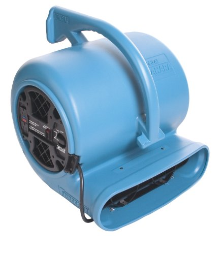 Commercial Carpet Dryer (Dri-Eaz F351 Sahara Pro X3 TurboDryer 3-Speed Floor Dryer)