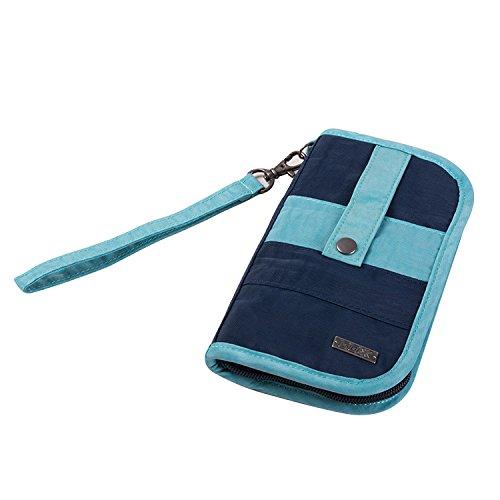 Cellphone Wallet, GOX Premium Large Washed Nylon Multi-us...