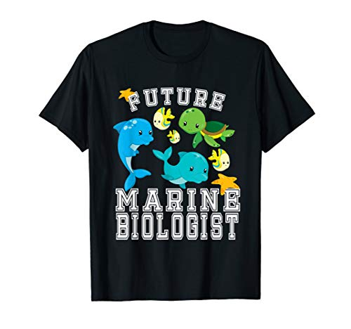Future Marine Biologist Costume T-Shirt for Adults and Kids