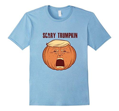Mens Scary Trumpkin Trick Or Treat Halloween TShirt For Men Women Small Baby (Homemade Halloween Treats For Babies)