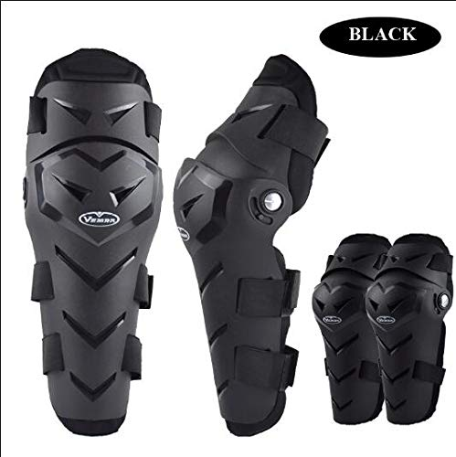 Reptile Heat Pad Co Motorcycle Protective Kneepad - 4pcs/lot Motorcycle Auto Racing protecciones motocr PP Shell Knee Pads Outdoor Sports Protective Gear Motocross Off Road Guards - by Tini - 1 PCs (Outdoor Powersports)