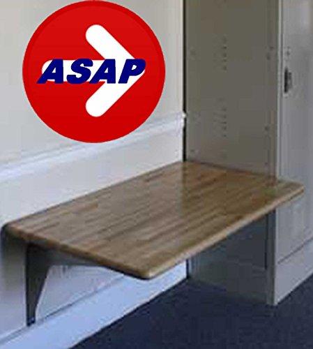ADA Wall Mounted Locker Room Bench - 42
