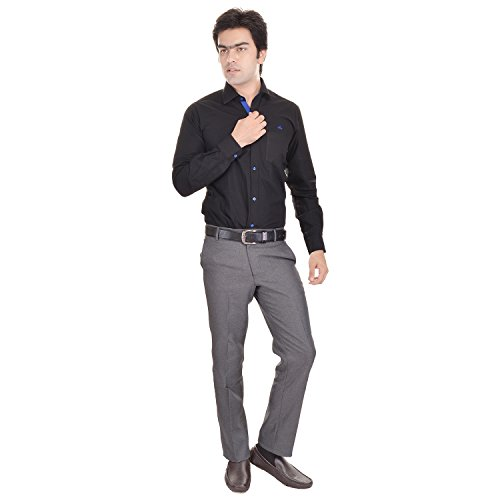 41tWQeQgFUL. SS500  - AD & AV Men's Formal Trouser (GDGREY_137_BB) - Grey
