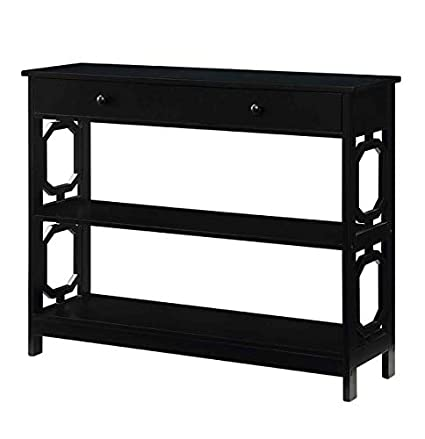 huge discount ffea6 3216f Amazon.com: Wood Console Table - Console Table with 1 ...