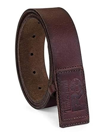 Timberland PRO mens No-scratch No Buckle Mechanic Belt Belt - brown - 32