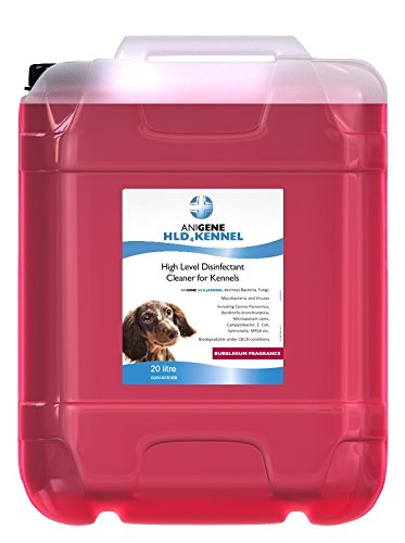Anigene Bubblegum Pet Disinfectant High Level Disinfectant Kennel Cleaner 20L
