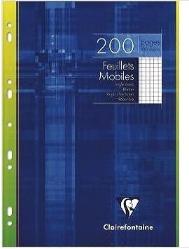 1 Paquet De 200 Feuilles Simples A4 Perforées Petits