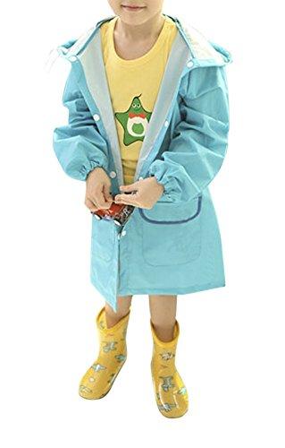 Fakeface Waterproof Cartoon Raincoat Children