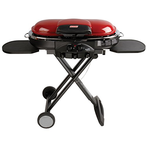 Cheap  Coleman Road Trip Propane Portable Grill LXE, Maroon