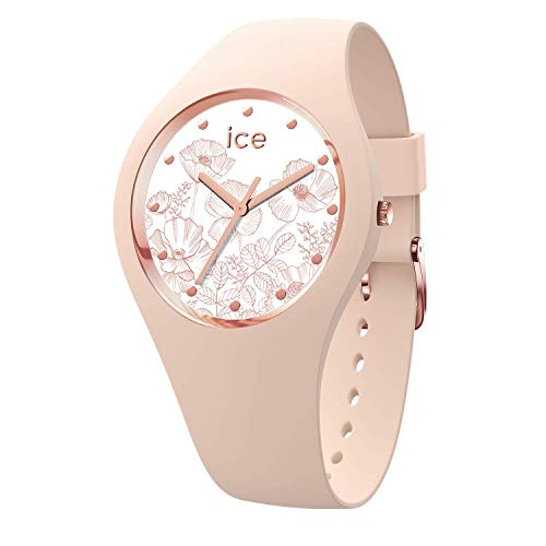 Ice-Watch Womens Analogue Quartz Watch with Silicone Strap 016663
