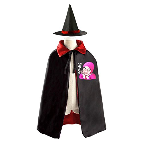 Cheap Diy Halloween Costumes For Guys (DIY FILTHY FRANK cute Costumes Party Dress Up Cape Reversible with Wizard Witch Hat)