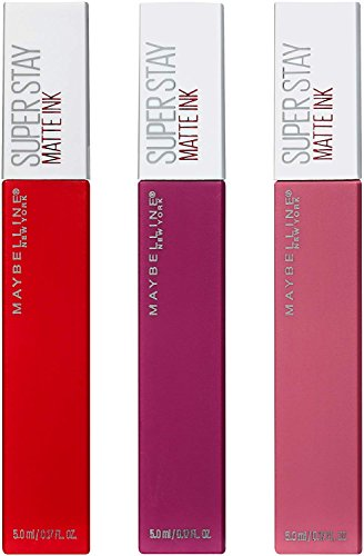 Maybelline New York NY Minute Makeup Kit SuperStay Matte Ink Liquid Lipstick Lip Kit, Longwear Matte Lip Makeup Kit