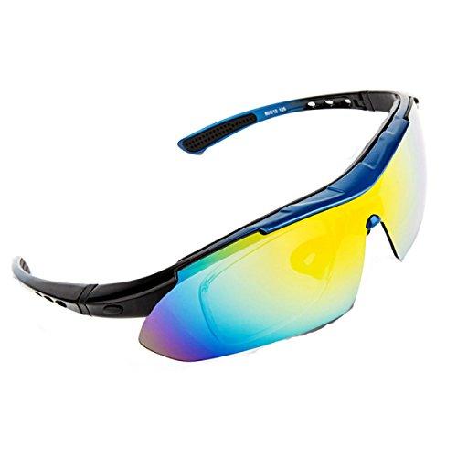 Glasses Lunettes Lunettes Air Polarisées Coupe vent Plein De E Lunettes De Cycling TZQ Sports VTT Vélo 7TxwqBngn