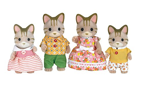picture of Calico Critters CC1406 Sandy Cat Family Doll