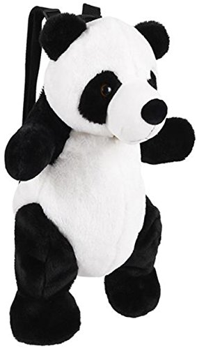 Wildlife Tree Kids 20 Inch Panda Bear Animal Backpack - Soft Stuffed Animal Small Plush Backpack -