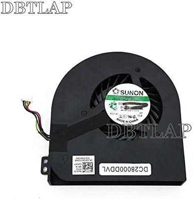DBTLAP Laptop GPU Fan Compatible for DELL Precision M4800 Laptop Fan BATA0815R5H PN02 DC28000DDVL CN-02K3K7 02K3K7