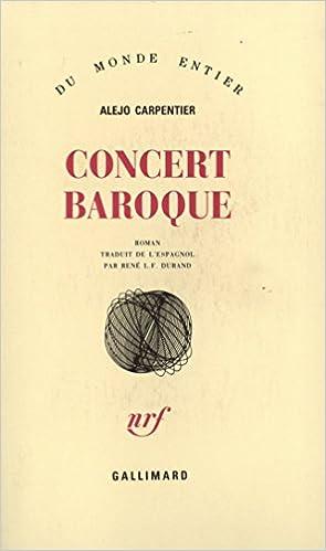 Lire Concert baroque pdf