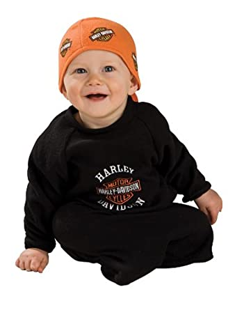 Amazon.com: Rubie's Costume Harley Davidson Motorcycles Baby Bunting