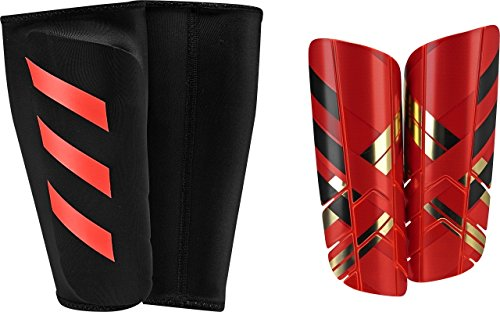 adidas Performance Ghost Pro Shin Guard, Solar Red/Core Red/Black, Large