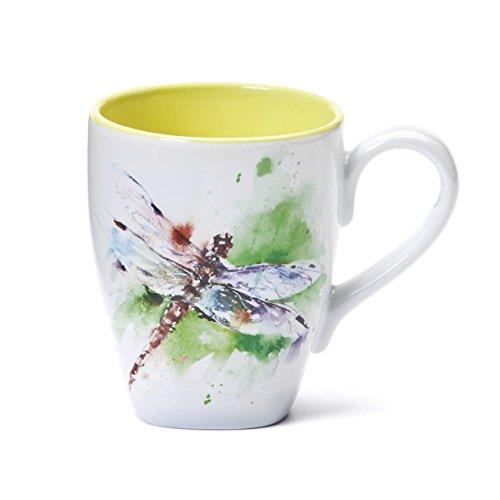 Demdaco 3005050301 Dragonfly Mug, Multicolored