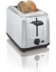 Hamilton Beach Brushed Stainless Steel 2-Slice Toaster (22910)