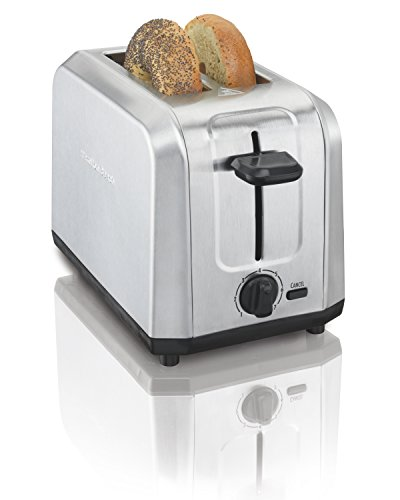 : Hamilton Beach Brushed Stainless Steel 2-Slice Toaster (22910)