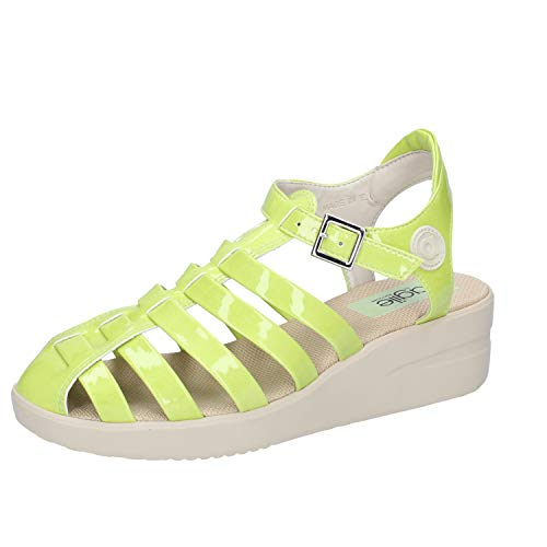 Sandales By Vert Verni Femme Cuir Agile Rucoline ZCxqw0OR