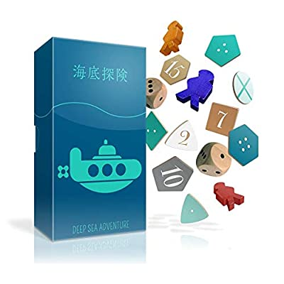 Oink Games Deep Sea Adventure: A Treasure-Hunting Travel Board Game: Toys & Games