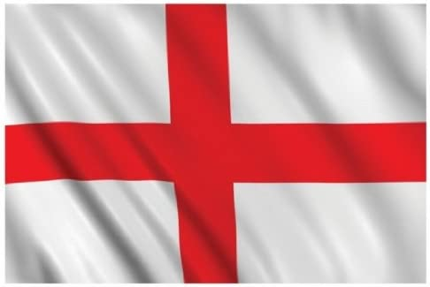 England Flag 5ft X 3ft Cross Of St George Flag National Football Sports Pub Car Amazon Co Uk Car Motorbike