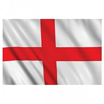 england flag 5ft x 3ft cross of st george flag national football