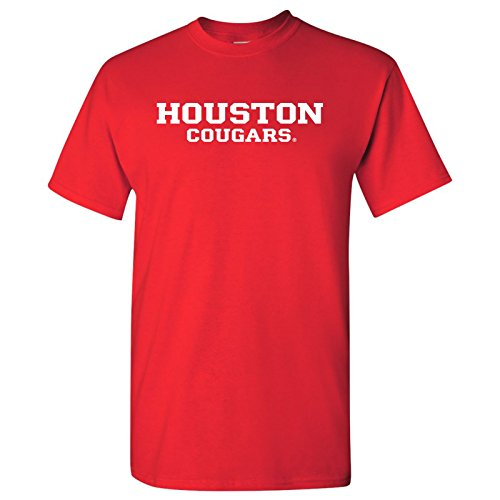 UGP Campus Apparel Houston Cougars Mens T-Shirt - X-Large - - Houston Basketball Cougars College