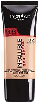 LOreal Paris Infallible Pro-Matte Liquid Longwear Foundation Makeup
