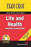 img - for Life and Health Insurance License Exam Cram (Paperback)--by Not Available (NA) [2004 Edition] book / textbook / text book