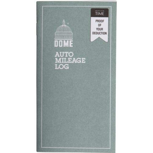 - Dome Auto Mileage Log Book Monthly Record Keeping DOM 770 Odometer