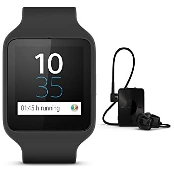 Amazon.com: Sony SmartWatch 3 SWR50 (Silicon, Black ...