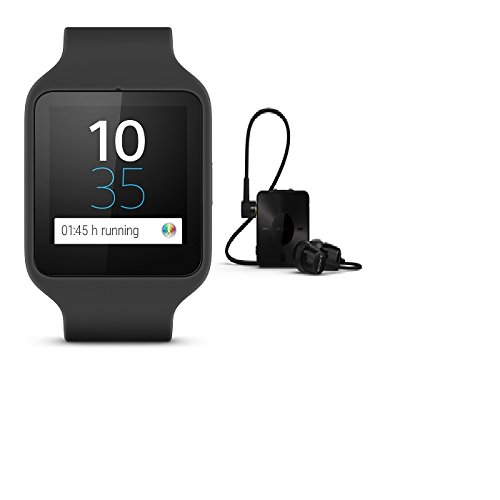 SmartWatch 3 SWR50 (Silicon, Black)