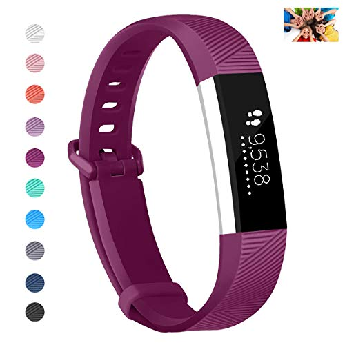 Wekin Compatible with ACE Bands, Soft Silicone Replacement Sport Accessory Wristband Strap for ACE,Alta HR Fitness Tracker Specially Designed for Kid