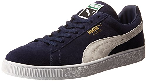 hot sale online 6732c bb842 PUMA Men's Suede Classic + Sneaker, Peacoat/White, 12 M US | Mebac 2018