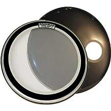 Aquarian Drumheads SKP22BK Super-Kick 1 Prepack 22-inch Bass Drum Head, gloss black