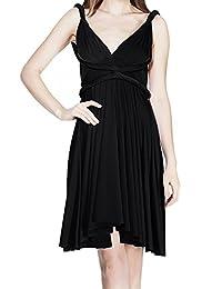 OwlFay Women Summer Short Convertible Wrap Bridesmaid Dress Formal Infinity Prom Gown