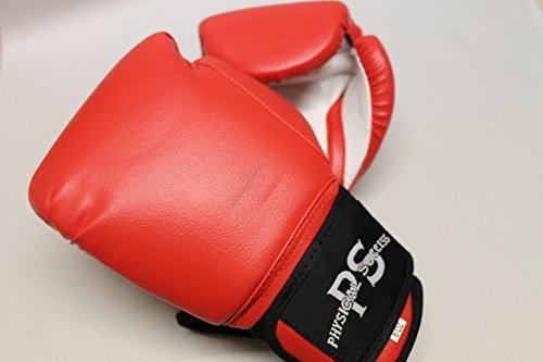 Boxing Gloves for Kids Red 6oz ( 1 PAIR ) (Fancy Dress Boxing Gloves)