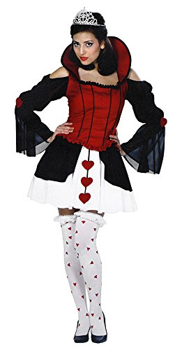 [Alice in Wonderland, Queen of Harlots Hearts Adult Costume Size 2-4 Extra Small] (Harlot Costume)