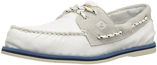 Sperry A/O 2-Eye - Náuticos de Hombre EN Color Blanco -