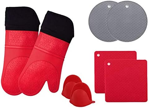 Jeater Silicone Potholders Advanced Resistant