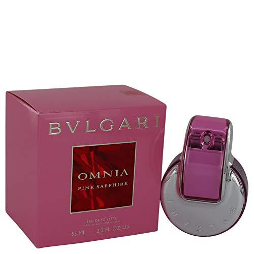 Bvlgari Omnia Pink Sapphire Eau de Toilette Spray, 2.2 Fl Oz ()