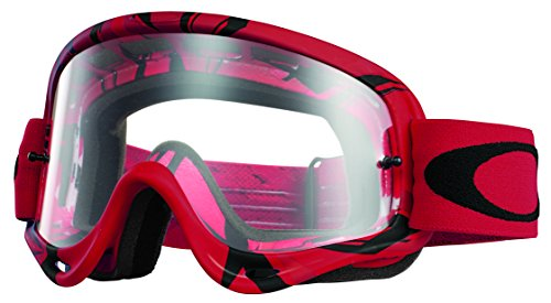 Oakley O-Frame MX Intimidator Goggles (Red/Black Frame/Clear Lens)